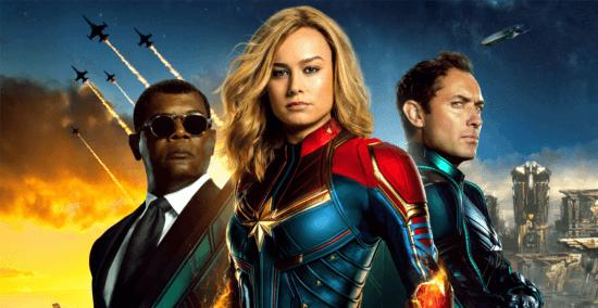 captain marvel poster header