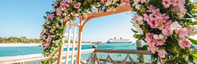 disney cruise line wedding