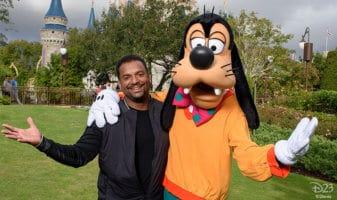 Disneyland with Alfonso Ribeiro