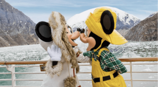 disney cruise line alaska mickey and minnie