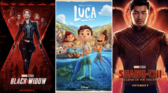 disney plus movie posters