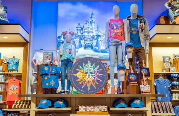 Disney Store display