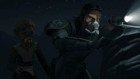 hunter and omega on desolate moon