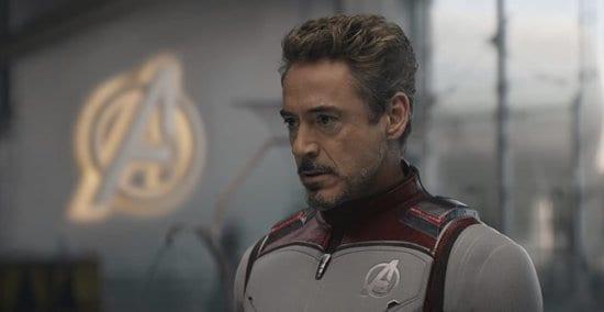 tony stark in avengers: endgame