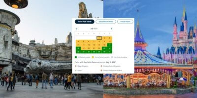 July Park Reservations for Walt Disney World