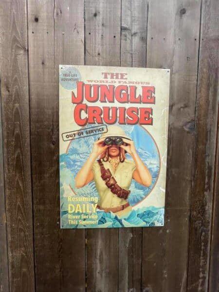 jungle cruise poster closed