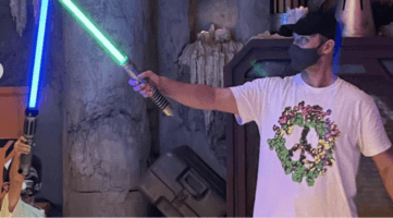 justin timberlake and son with lightsabers