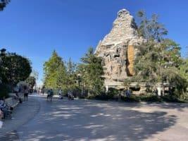 Matterhorn Bobsled attraction in Disneyland