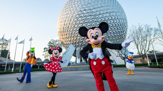 Mickey and Friends EPCOT