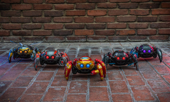 Spider Bots at Avengers Campus