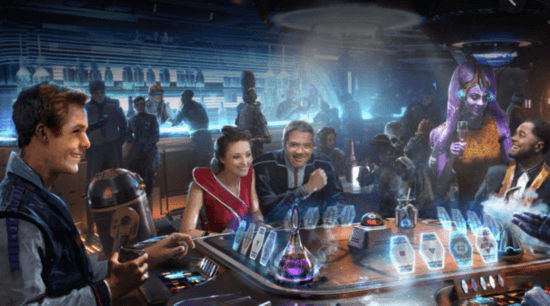 sublight lounge galactic starcruiser