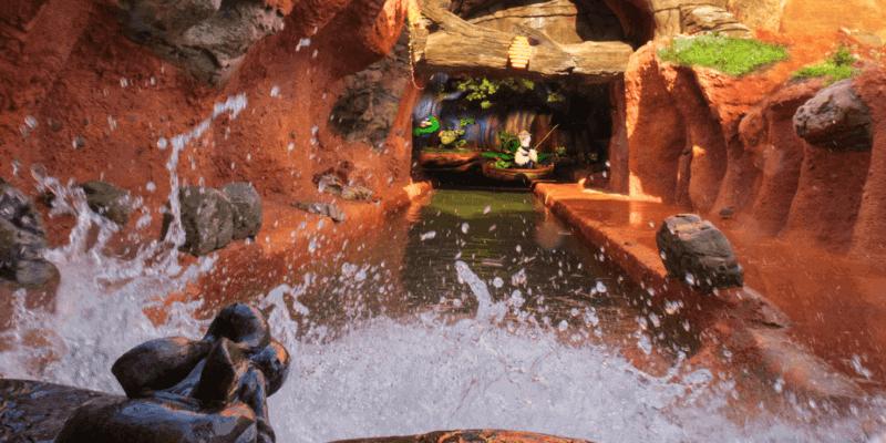 splash mountain drop