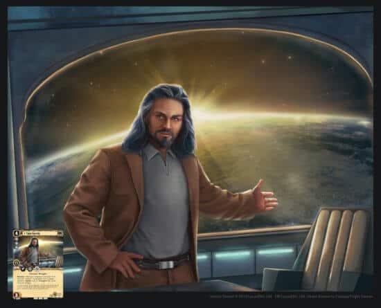 star wars trading card game talon karrde