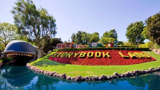 Storybook Land Canal Boats in Disneyland