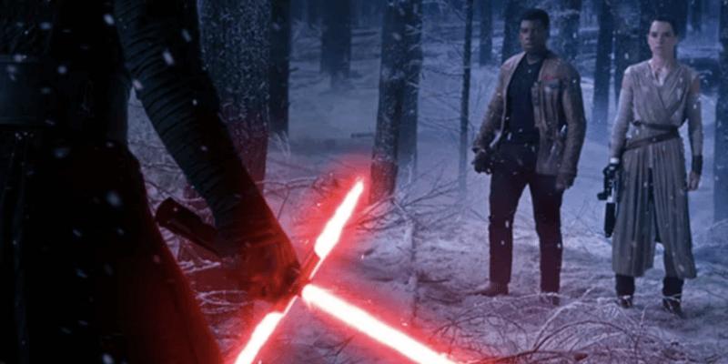 the force awakens battle