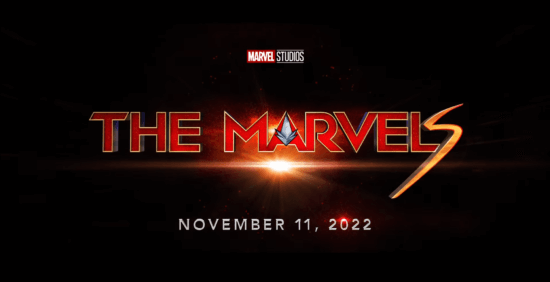 the marvels title card