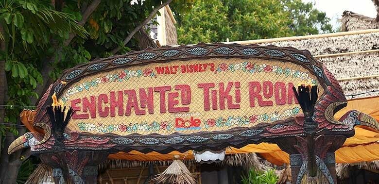 the history of walt disney's enchanted tiki room