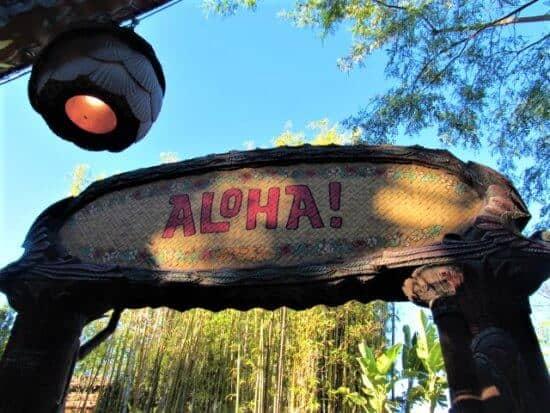 aloha from walt disney's enchanted tiki room
