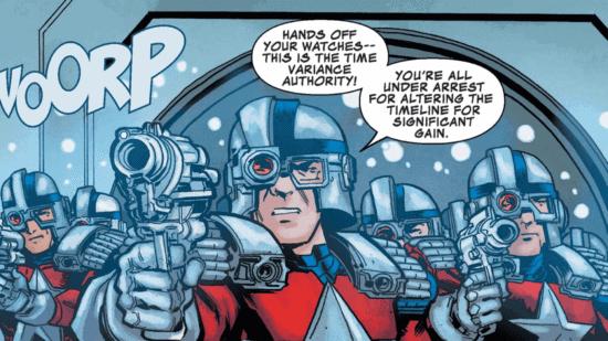 time variance minutemen comic