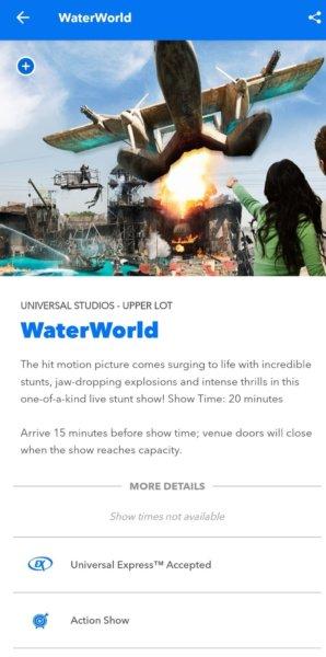 WaterWorld in Universal Hollywood