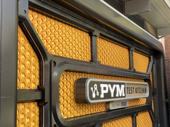 pym test kitchen at avengers campus at disney california adenture