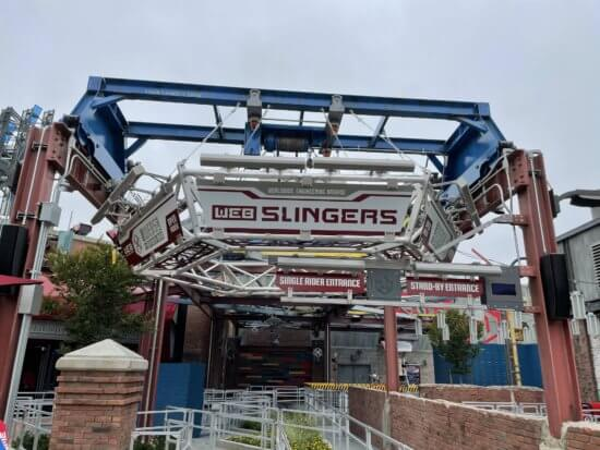 web slingers a spider man adventure at avengers campus
