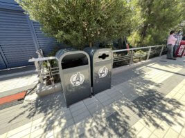 avengers campus trash cans