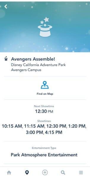 avengers assemble showtimes