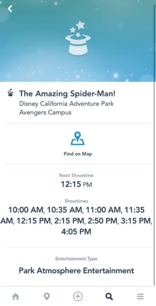 the amazing spider man showtimes