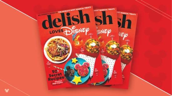 delish loves disney cookbook