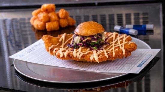 Chicken Sandwich Avengers Campus