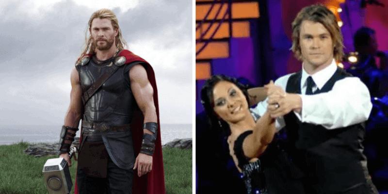 Chris Hemsworth Thor/Dancing With the Stars