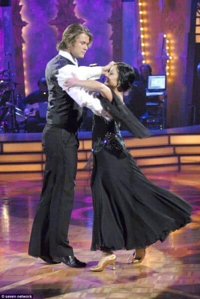 Chris Hemsworth Dancing with the Stars