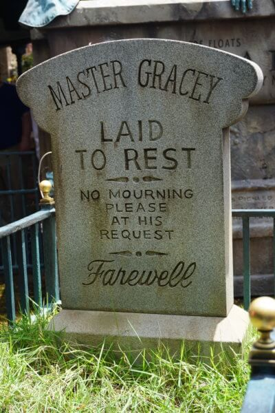 yale gracey tombstone wdw