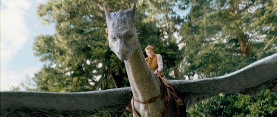 Eragon and Dragon in Film