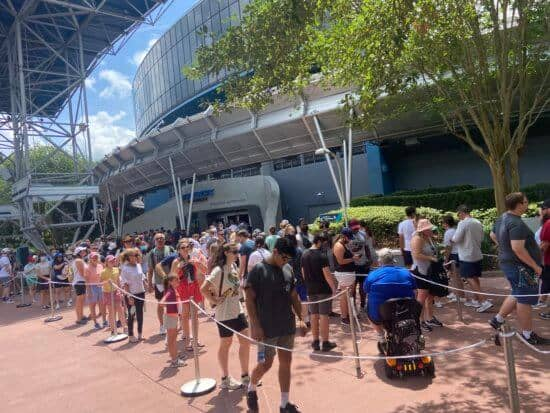 disney world crowds