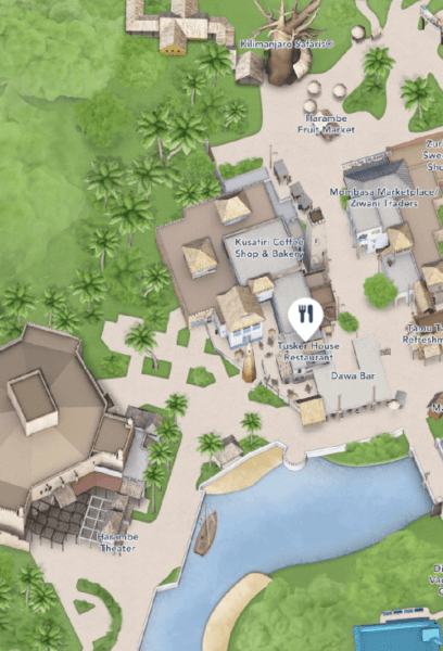 tusker house map
