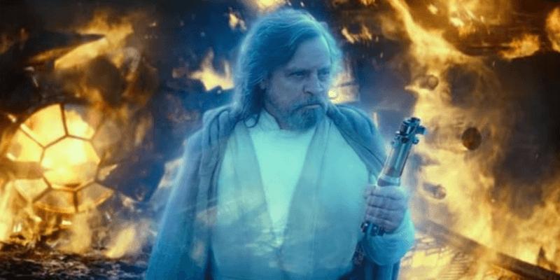 Force Ghost Luke Skywalker