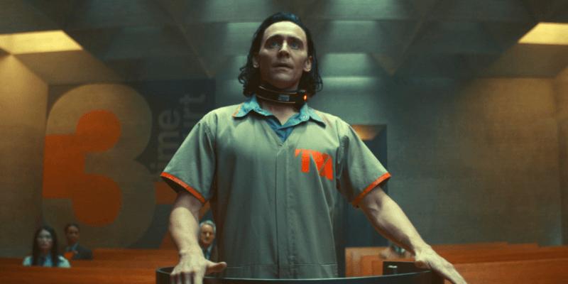 tom hiddleston as loki at tva headquarters