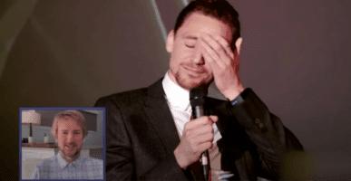 left Owen Wilson, right Tom Hiddleston