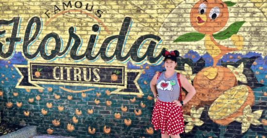Orange Bird Wall, Disney Springs