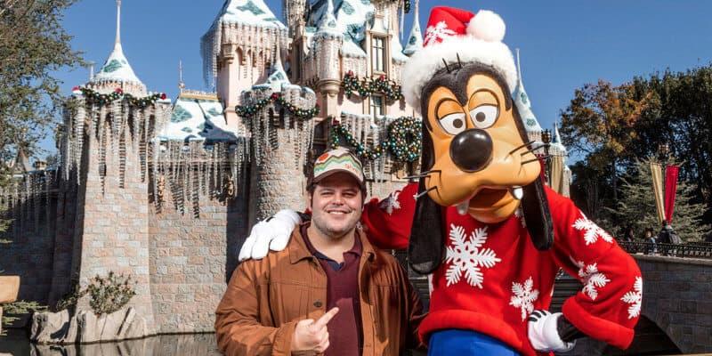 Josh Gad Disneyland