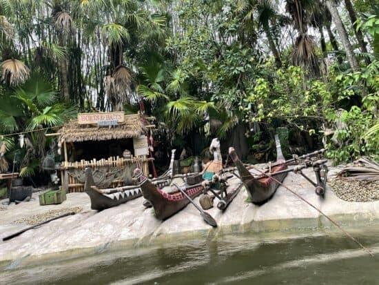 Jungle Cruise WDW Boats, Baits and Bites