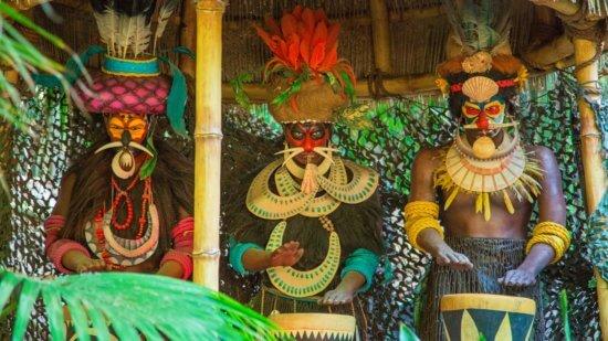 MK Jungle Cruise Pygmy Tribe