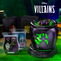 Villains Scentsy warmer and bars