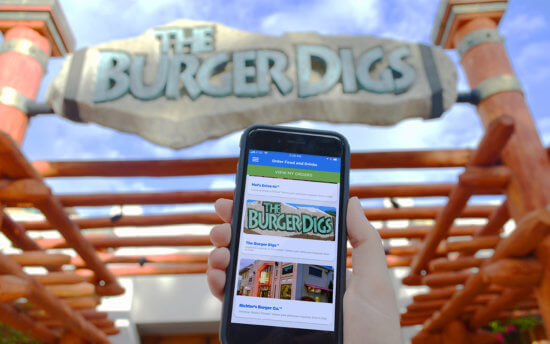 Mobile Ordering at Universal Orlando