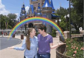 rainbow magicshot pride disney world