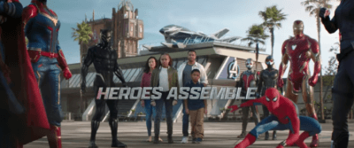 avengers campus commercial