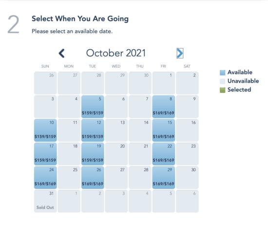 Boo Bash Ticket Availability