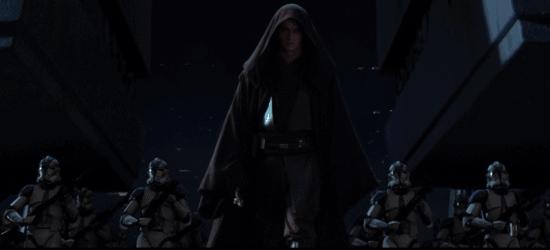 Hayden Christensen as Anakin Skywalker in 'Revenge of the Sith'